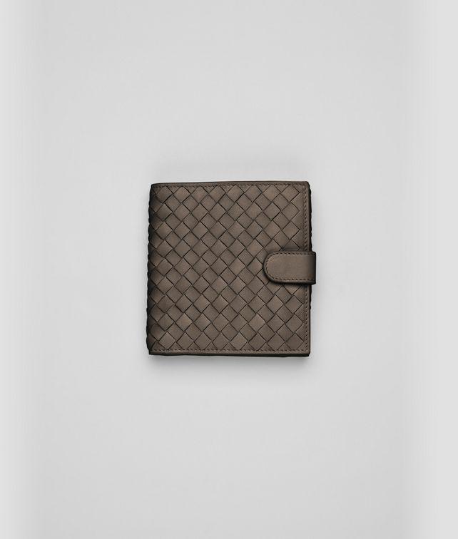 Edoardo Intrecciato Nappa French Flap Wallet