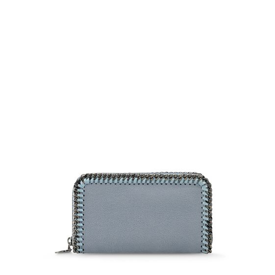 Stella McCartney, Falabella Shaggy Deer Zip Wallet