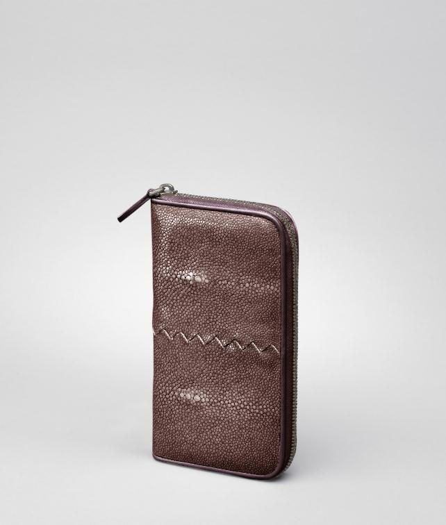 Soft Stingray Nappa Zip Around Wallet