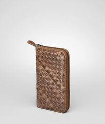 WalletSmall Leather GoodsLambskin, AyersYellow Bottega Veneta®