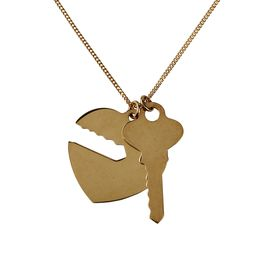 STELLA McCARTNEY, Jewelry, Key and Heart Necklace
