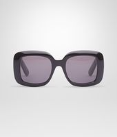 Nero Acetate Leather Eyewear BV 1000/S