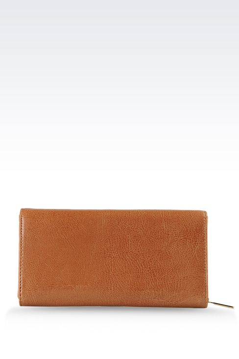 Small leather goods: Wallets Women by Armani - 2