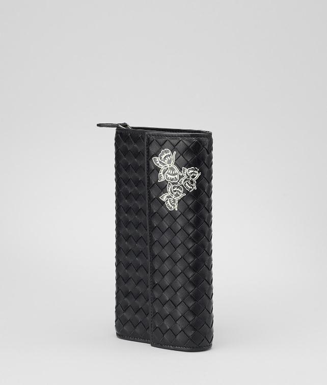 Intrecciato Nappa Papillon Continental Wallet