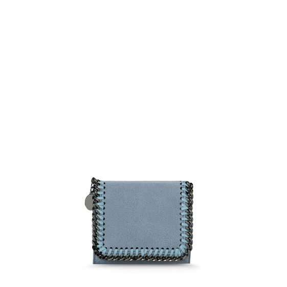 Stella McCartney, Falabella Small Shaggy Deer Flap Wallet