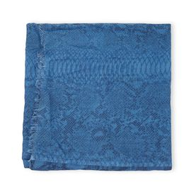 STELLA McCARTNEY, Scarf, Silk Mix Python Print Scarf