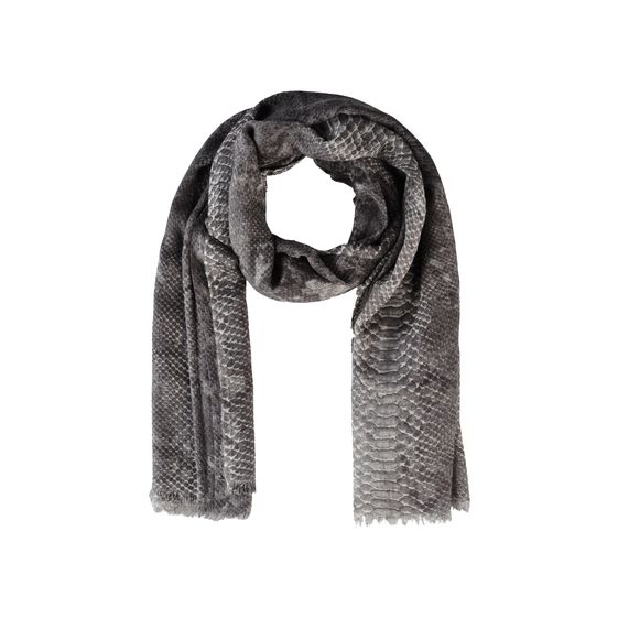 Stella McCartney, Silk Mix Python Print Scarf