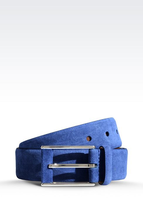 Belts: Leather belts Men by Armani - 1