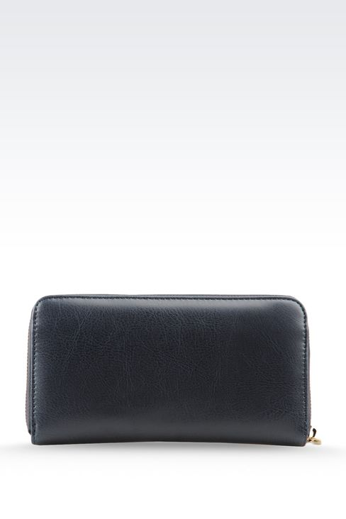 WALLET IN ECO LEATHER WITH LOGO: Wallets Women by Armani - 2