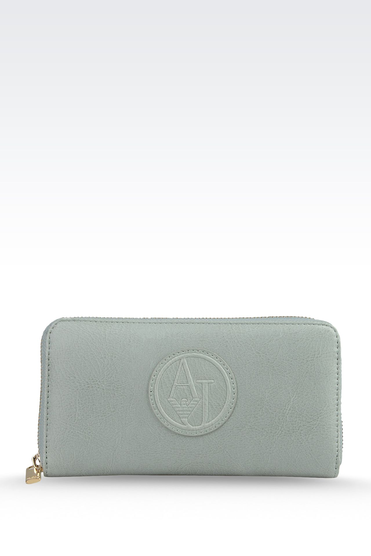 WALLET IN ECO LEATHER WITH LOGO: Wallets Women by Armani - 0
