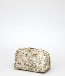 Cosmetic CaseSmall Leather GoodsReptile leather Bottega Veneta®
