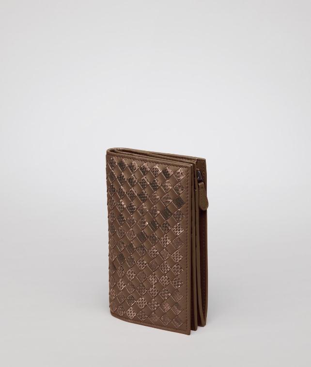 Intrecciato Nappa Ayers Continental Wallet