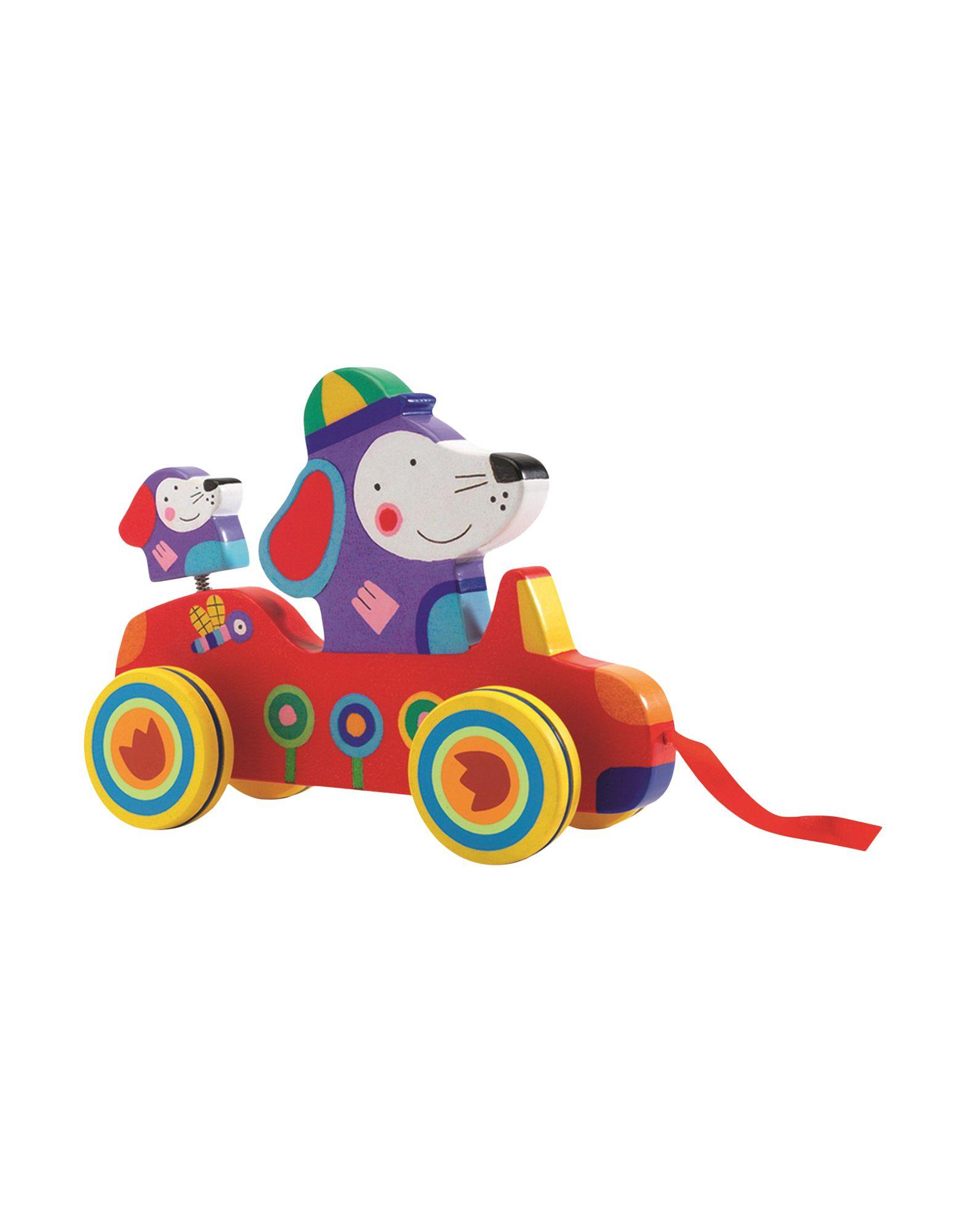 DJECO Unisex Baby- und Kinderspielzeuge Farbe Rot Größe 1