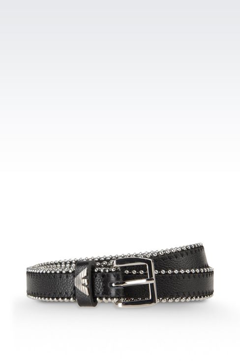 Belts: Textile belts Women by Armani - 1