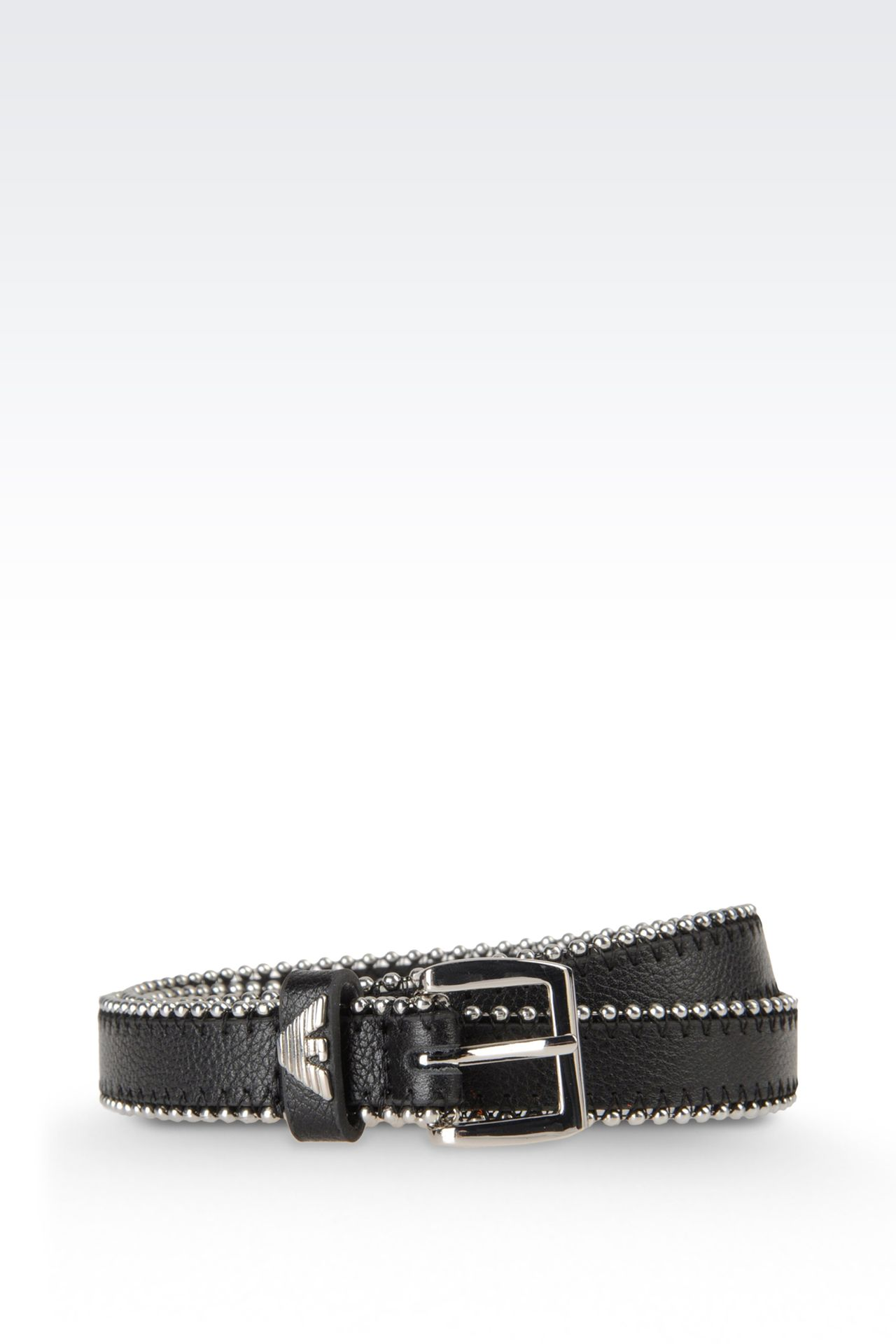 Belts: Textile belts Women by Armani - 0