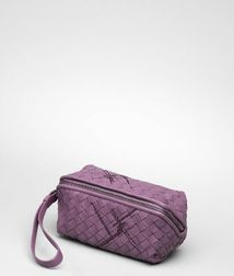 Cosmetic CaseSmall Leather GoodsLeatherPurple Bottega Veneta®