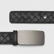 Intrecciato Waxed Leather Belt - Belt - BOTTEGA VENETA - PE13 - 590