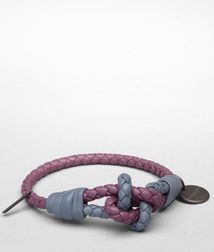 Leather BraceletSmall Leather GoodsNappa leatherPurple Bottega Veneta®