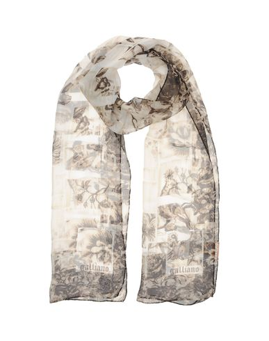 GALLIANO - Oblong scarf