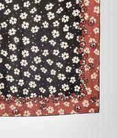 Silk Marguerite Print Foulard