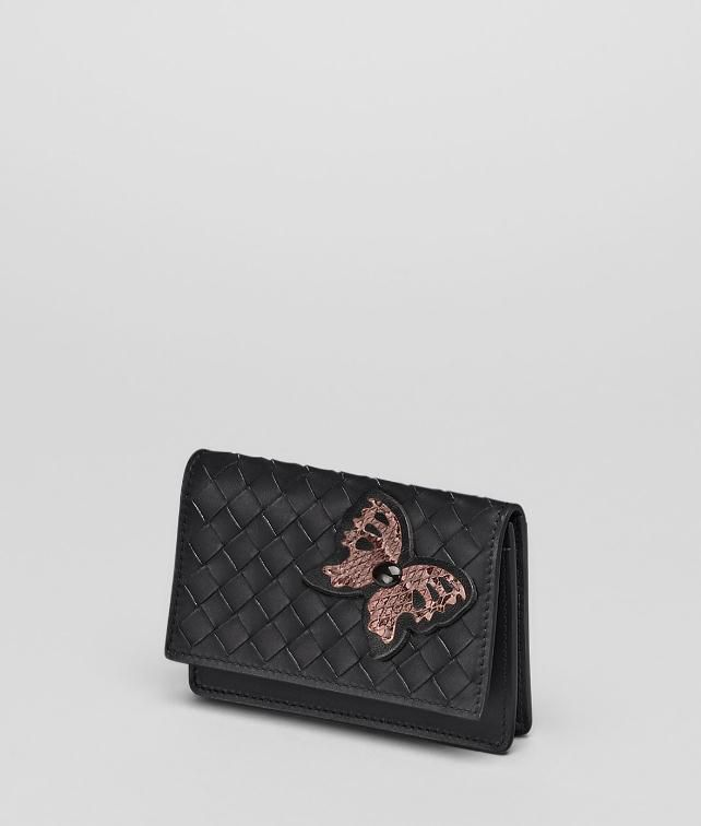 Intrecciato Ayers Butterfly Card Case