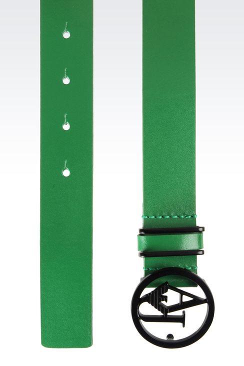 Belts: Textile belts Women by Armani - 2