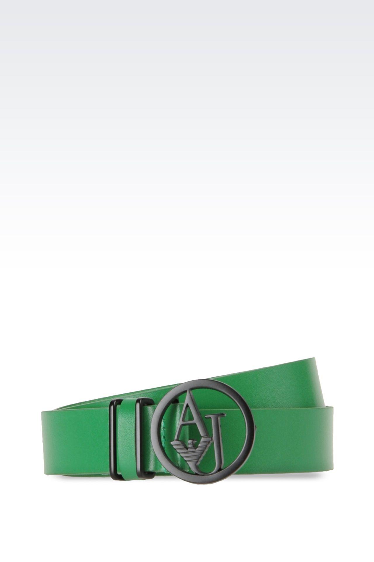 Belts: Textile belts Women by Armani - 0