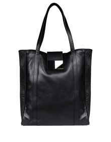 Large leather bag - DIRK BIKKEMBERGS