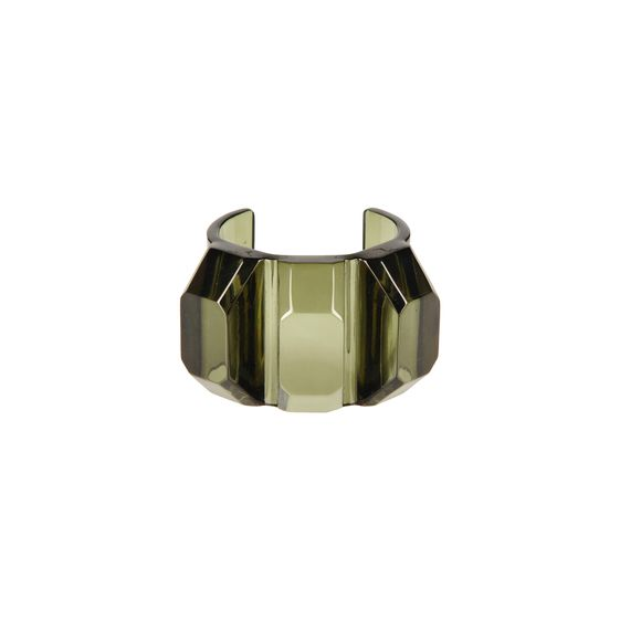 Stella McCartney, Bracelet jonc en plexi transparent