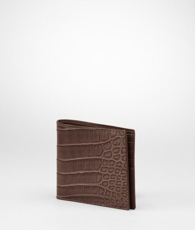 Soft Crocodile Fume Wallet