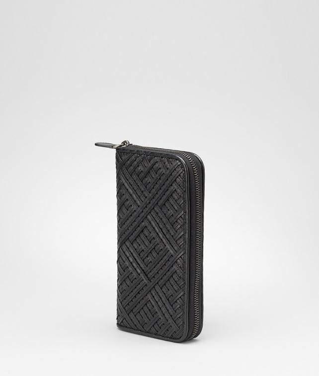 Intreccio Nappa Zip Around Wallet