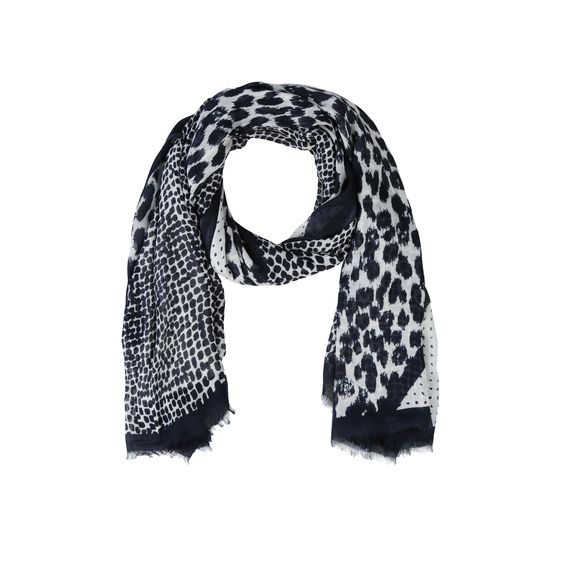 Stella McCartney, Painted Spot Scarf 