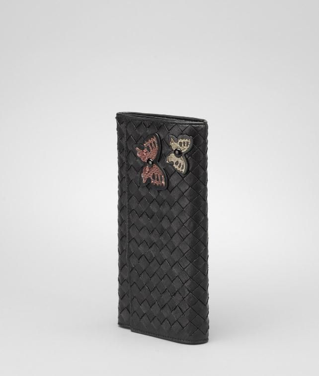 Intrecciato Ayers Butterfly Continental Wallet