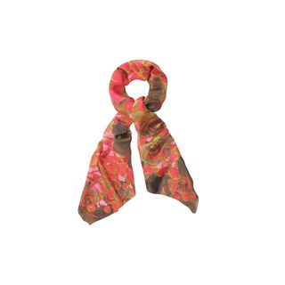 McQ, Scarf, Rose Petal McQ Logo Scarf 
