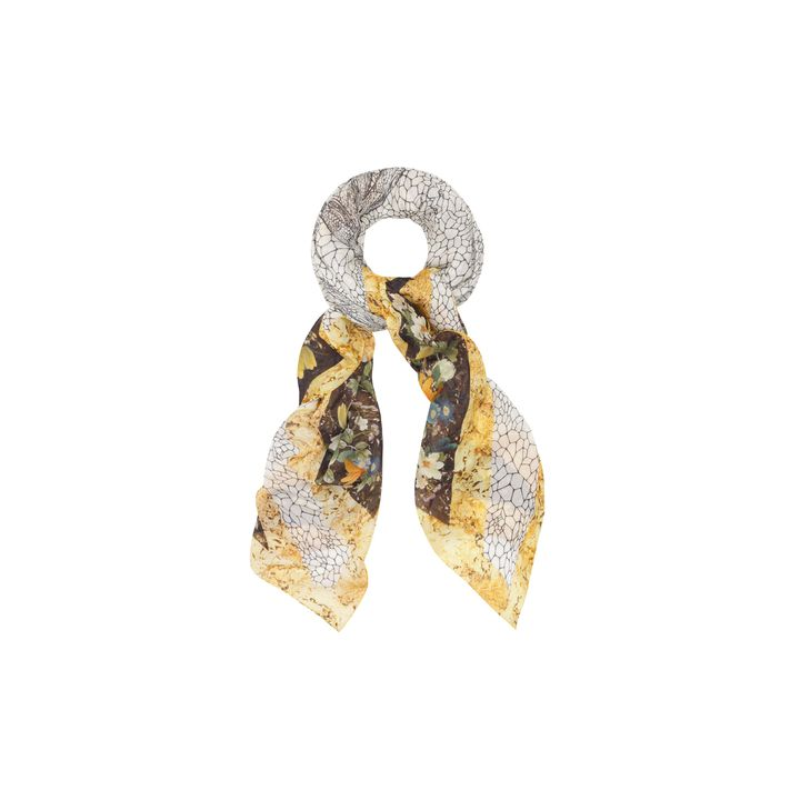 Alexander McQueen, Dragonfly and Petal God Save McQueen Pashmina