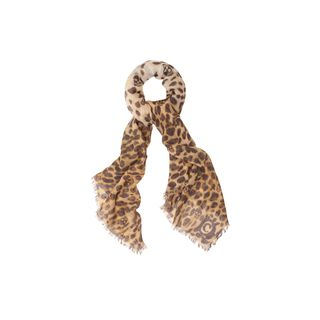 ALEXANDER MCQUEEN, Pashmina Fashion Scarf, Leopard Skull Pashmina