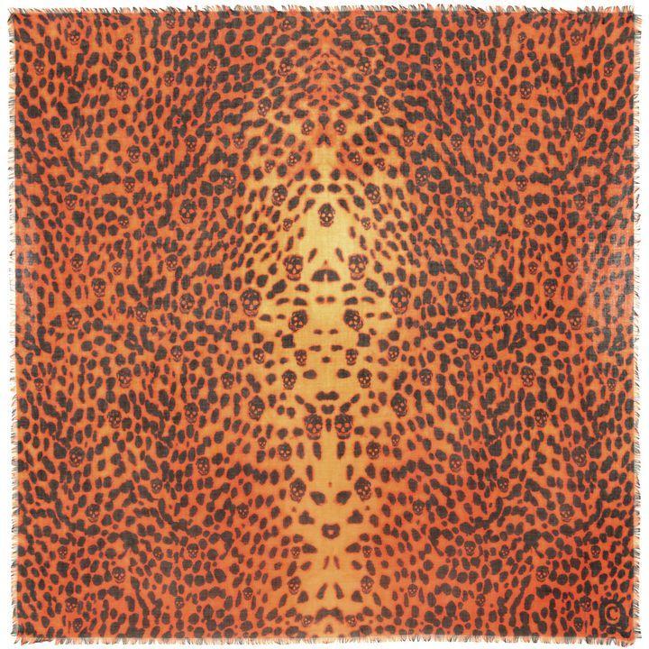 Alexander McQueen, Leopard Skull Pashmina
