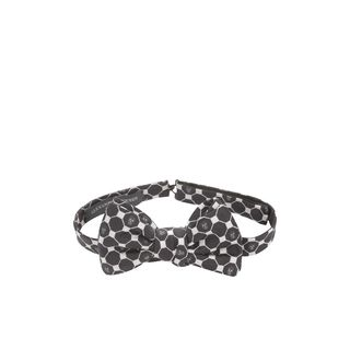ALEXANDER MCQUEEN, Tie, Diamond Skull Bow-Tie