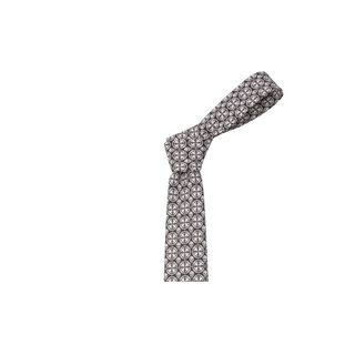 ALEXANDER MCQUEEN, Tie, Piastrella Print Skull Tie