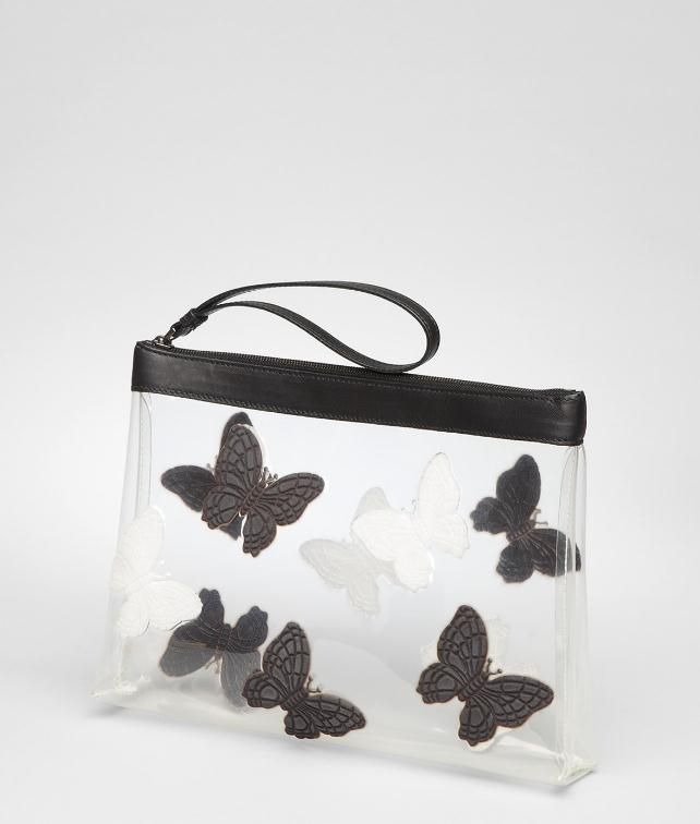 Crystal Butterfly Document Case