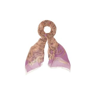 McQ, Scarf, Drawn Iris MCQ Scarf
