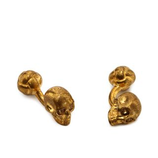 ALEXANDER MCQUEEN, Formal Accessory, Knotted Skull Cufflinks