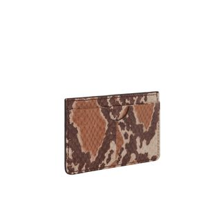 ALEXANDER MCQUEEN, Wallet, Snakeskin Card Holder