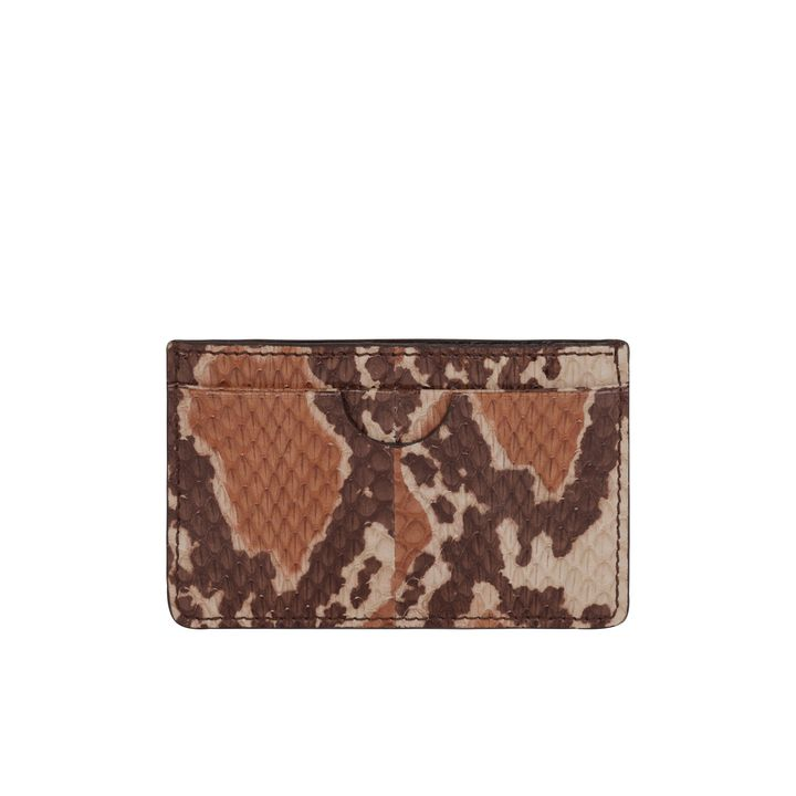 Alexander McQueen, Snakeskin Card Holder