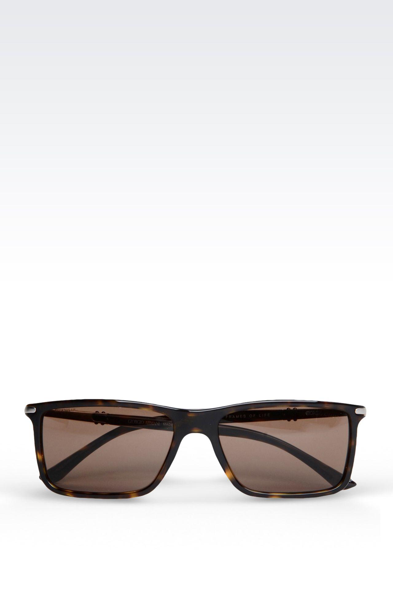Giorgio Armani Glasses Frame Mens : Giorgio Armani Men SUNGLASSES FROM THE GIORGIO ARMANI ...