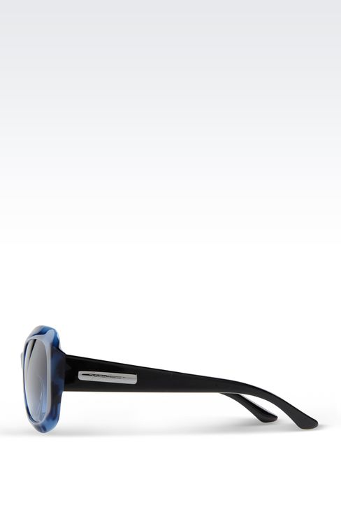 ACETATE SUNGLASSES WITH SQUARE LENSES: sun glasses Women by Armani - 3
