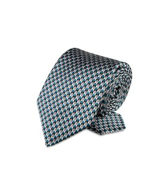ERMENEGILDO ZEGNA: Tie Red - Maroon - Blue - Grey - Light grey - Steel grey - Ivory - Deep jade - 46303503FX