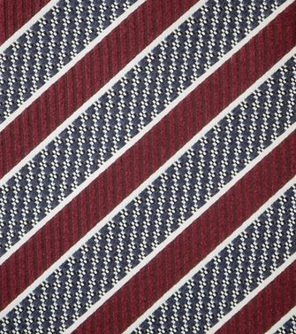 ERMENEGILDO ZEGNA: Tie Red - Maroon - Grey - Ivory - Slate blue - Dark brown - 46303503XW