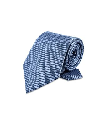 ERMENEGILDO ZEGNA: Tie Maroon - Grey - Steel grey - Brown - Dark brown - 46303524MN