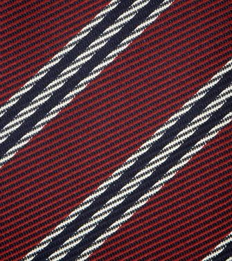 ERMENEGILDO ZEGNA: Tie Black - Red - Maroon - Blue - Grey - Ivory - Slate blue - Dark brown - 46303526LD